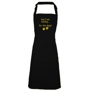 Aprons - Kiss the Dog and Feed the Husband | Giraffe-Shop.co.uk